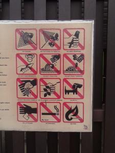 Don't Feed Monkeys